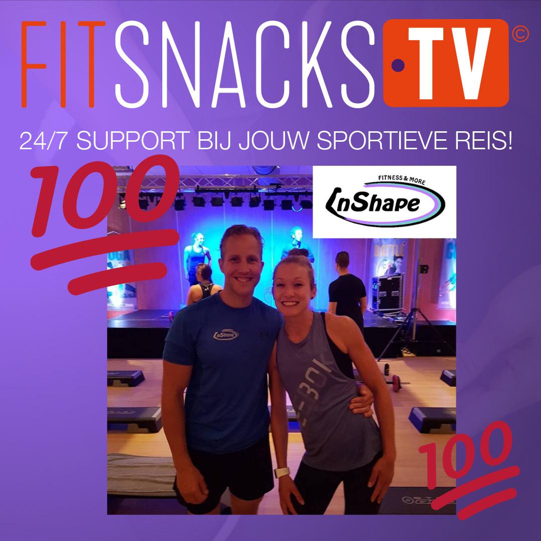 Eerste FitSnacks.TV mijlpaal voor InShape